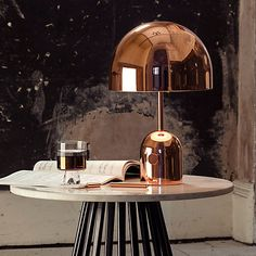 Buy Tom Dixon Bell Table Light online with Houseology's Price Promise. Full Tom Dixon collection with UK & International shipping. Light Table, Lamp Light, Tom Dixon Lighting, Copper Home Accessories, Copper Table, Led Röhren, Design Bestseller, Contemporary Table Lamps, Luxury Furniture