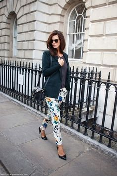 Colored Skinny Jean Trend