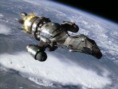 Militaristic starship