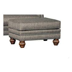 Chelsea Home Furniture Swampscott Upholstered Ottoman - 394300F50-O-TW