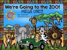 6-5- REVISED: If you bought this bundle prior to this date please re-download to get updates for FREE!This 200 page MEGA Zoo Unit will get your students traveling the world learning about zoo animals! As you learn about each animal students will paste the picture of the animal where you can find that animal on the world map.