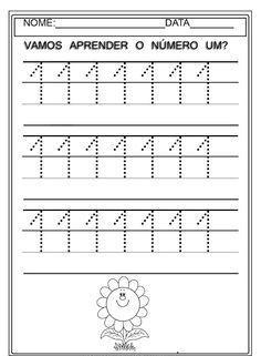 1 den 10 a Kadar Sayılar Çizgi Çalışması