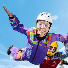 Happy people flying in Aerodium vwertical wind tunnel in Latvia. People Fly, Happy People, Wind Tunnel, Instagram Posts