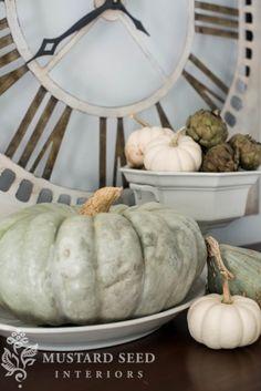 missmustardseed- fall decorating
