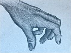 Hand Concentration N.2 pencil 6x8""