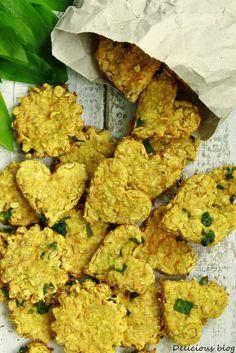 Delicious blog: Kukuřičné sušenky s medvědím česnekem