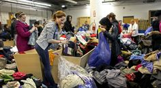 The New York Times profiles Housing Works Buy The Bag sale in Long Island City.