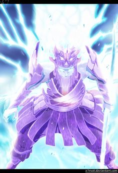 Naruto 696 - Incredible susanoo Lineart and color by