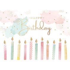 Happy Birthday Art, Happy Birthday Wallpaper, Happy Birthday Wishes Cards, Happy Birthday Candles, Happy Birthday Pictures, Birthday Greeting Cards, Facebook Birthday, Birthday Text, Moon