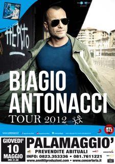10 maggio 2012 - Biagio Antonacci @ Palamaggiò