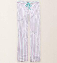 Crystal Lavender Aerie Stripe Pajama Pant