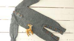 merino romper handmade onesies baby pants by pontinhosmeus