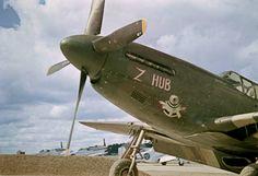 """Nödlandare från USA - North American P-51B-5-NA Mustang """"Z Hub"""" - Serial # 43-6365"""
