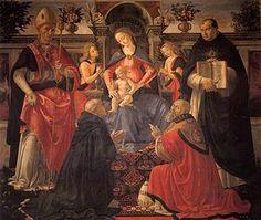 La Sacra conversazione di Monticelli è un dipinto a tempera su tavola (167x195 cm) di Domenico Ghirlandaio, databile al 1483 e conservato nella Galleria degli Uffizi a Firenze.