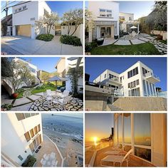 Barry Manilow's former ocean front property in Malibu. Former Russian hockey player Alex Mogilny and his wife Natalia bought it in House Front, My House, Hollywood Homes, Hollywood Style, Ocean Front Property, Rich Home, Barry Manilow, Million Dollar Homes, Entry Gates