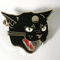 Repost @pintagramco  Our new Hellcat Pin is available in the shop right meow! Link in bio! -- . . . . . . . #PintagramCo #EnamelPin #pingamestrong #pinsofig #pincollector #pinpost #pintrader #pinoftheday #graphicdesigner #spooky #catlady #horror #hellcat #catsofig #pindrop    (Posted by https://bbllowwnn.com/) Tap the photo for purchase info.  Follow @bbllowwnn on Instagram for the best pins & patches! [Image Description: Enamel pin and embroidered patch for sale on background]