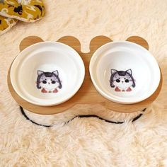 New High-end Pet Bowl Bamboo Shelf Ceramic Feeding and Drinking Bowls for Dogs and Cats Pet Feeder Accessories Food Jar, Food Bowl, Bamboo Shelf, Easy Eat, Baby Shower Party Supplies, Pet Feeder, Kids Party Decorations, Dog Feeding, Pet Bowls