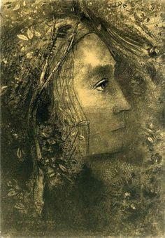 Spring, 1883  Odilon Redon  WikiPaintings