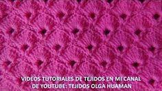 puntos crochet vestidos bautismo - YouTube