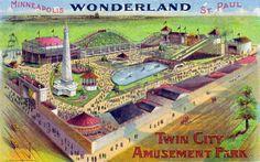 Wonderland Amusement Park Minneapolis, MN