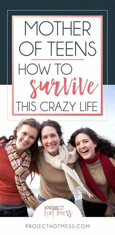 Teenagers are a whole new game as a parent, but there is a way you can survive the crazy life of being a mother of teens, without going completely bonkers. Parenting | Parenting Advice | Mom Life | Parenting Goals | Parenting Ideas | Parenting Tips | Parenting Types | Parenting Hacks | Positive Parenting | Parenthood | Motherhood | Surviving Motherhood | Teenagers | Teen Parenting | Parenting Teenagers #teenparentingadvice
