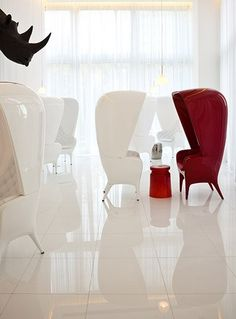 A lookbook of interior design, product design and furniture design by Philippe Starck - Creative Director, yoo inspired by Starck.