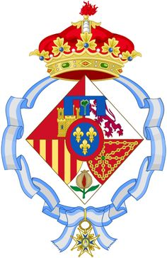 Coat of arms of Infanta Cristina of Spain (1997-2015)