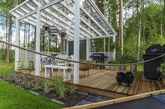 Pergola Kits Home Depot Patio Roof, Pergola Patio, Pergola Plans, Pergola Kits, Backyard, Pergola Ideas, Outdoor Gazebos, Outdoor Rooms, Outdoor Gardens