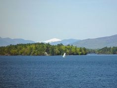 Lake Winnipesaukee. I spent 2 weeks here every summer when I was a kid. It's always fun to go back.