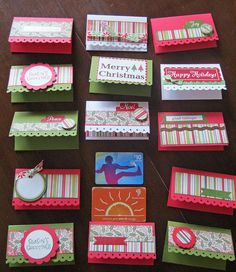 Idea Closet: Day 11- Gift Card Holders with tutorial