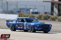 Mike Maier's @falkentire sponsored 1966 #FordMustang finished 12th overall in the 2015 #OUSCI