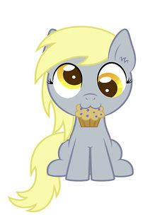 """My Little Pony Friendship is Magic filly Derpy Hooves"" by cyberwolf247 
