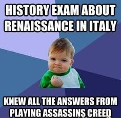 So true. After AC IV Black Flag i can finally memorise all capitals of the Caribbean. xD
