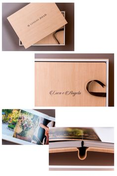 Angela&Luca - Cover, back and spine: Maple Light Hazel - Design Box: Maple Light Hazel (outside) and Touch White (inside) - Ribbon: Chocolate. With a special graphic design both on the cover and the box (made with colored UV overprint). Album created by Graphistudio for Paolo Bernardotti Studio. Italian Luxury Brands, Wedding Albums, Box Design, Newlyweds, Luxury Branding, Our Wedding, Ribbon, Touch, Graphic Design