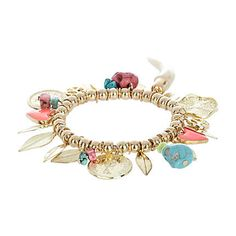 As if I need one more piece of jewelry but I like this site. Oh, and I like the colors of the charms.