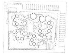 Outdoor School, Amsterdam 1955 Aldo Van Eyck Source by tavosanguino Concept Models Architecture, House Architecture Styles, Architecture Concept Diagram, Facade Architecture, Landscape Architecture, Landscape Design, Kindergarten Design, Conceptual Drawing, Outdoor School