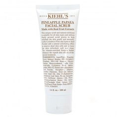 Kiehls pineapple papaya facial scrub