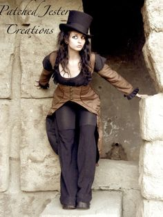 Hey, I found this really awesome Etsy listing at https://www.etsy.com/listing/72275965/made-to-order-brown-steampunk-corset