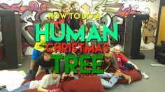 Free Christmas Youth Group Game: Human Christmas Tree!