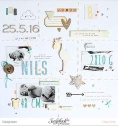 Nils – SBW Sketch des Monats – think pink & mint
