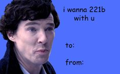 "Community Post: 21 Valentines For The ""Sherlock"" Fan In Your Life"