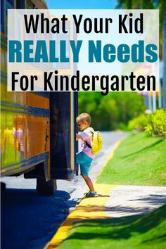 School Supplies for Kindergarten: What Your Kid Really Needs! (2020) - lw vogue Back To School Supplies List, Back To School List, Cute School Supplies, I School, Baby Supplies, School Stuff, School Lunch, School Ideas, Kindergarten School Supply List