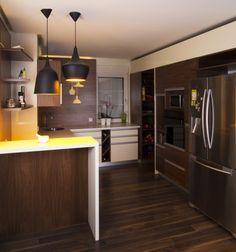 American walnut-cream kitchen