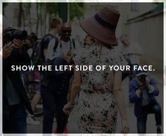 """Tip #1: Find your """"good side"""""""