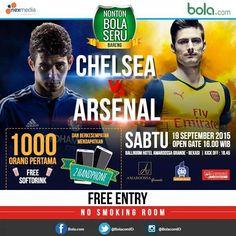 Nonton Bola seru Bareng : Chelsea VS Arsenal http://goo.gl/TQtciQ  @AmaroossaGrande @AMAROOSSA