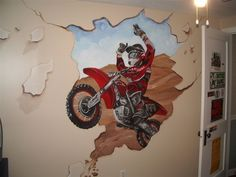 awesome.. i might have to get my husband to do this in my son's room