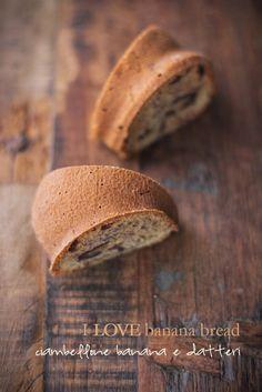 - VANIGLIA - storie di cucina: I LOVE banana bread 3/3: il ciambellone banana, datteri e sciroppo d'acero