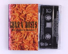 Guns N' Roses - The Spaghetti Incident Cassette Tape by JeepsterVintage on Etsy