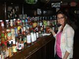 Deer Park Tavern: waitress and bartender in an old tavern (biker bar, student dive) through school