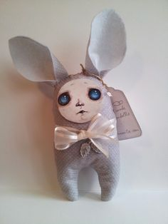 "Hand made Bunndoll ""The snowflake leaf"""